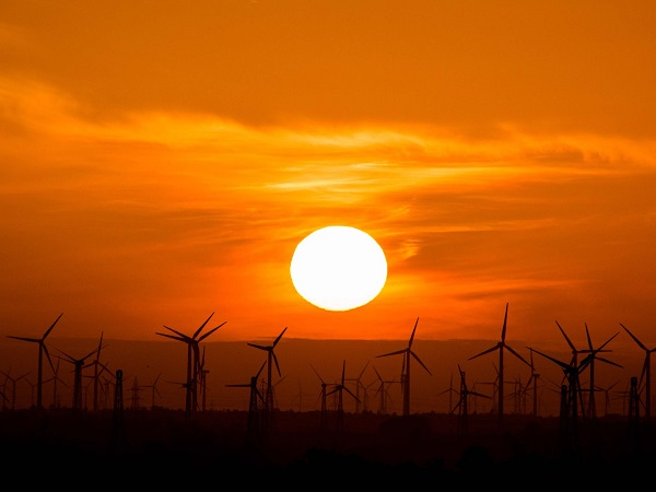 The second part of the relationship between energy and solar energy